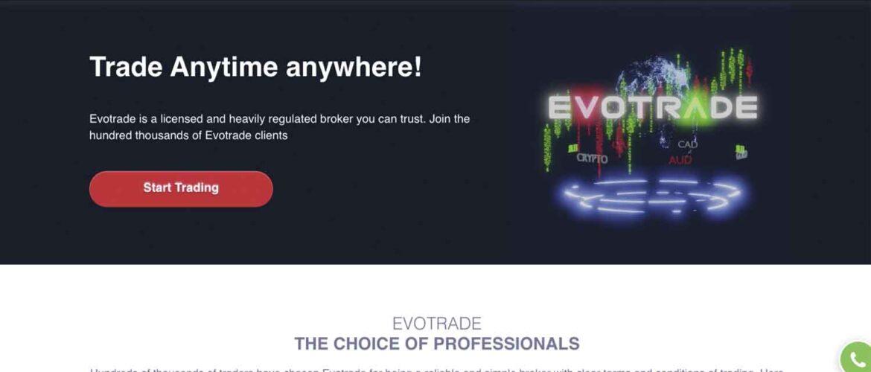 Evotrade: отзывы клиентов, условия сотрудничества