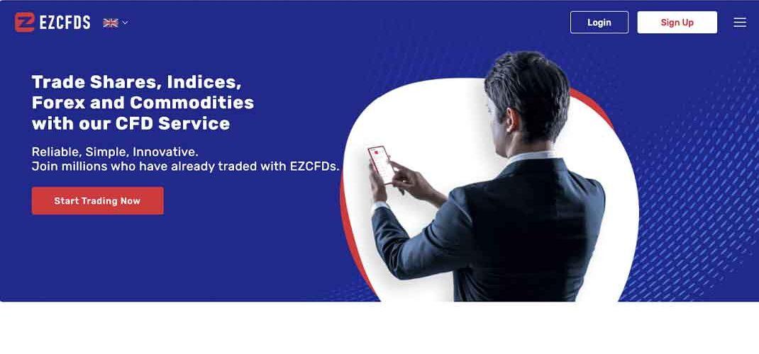 EZCFDs: отзывы о сотрудничестве с брокером, трейдинговые возможности