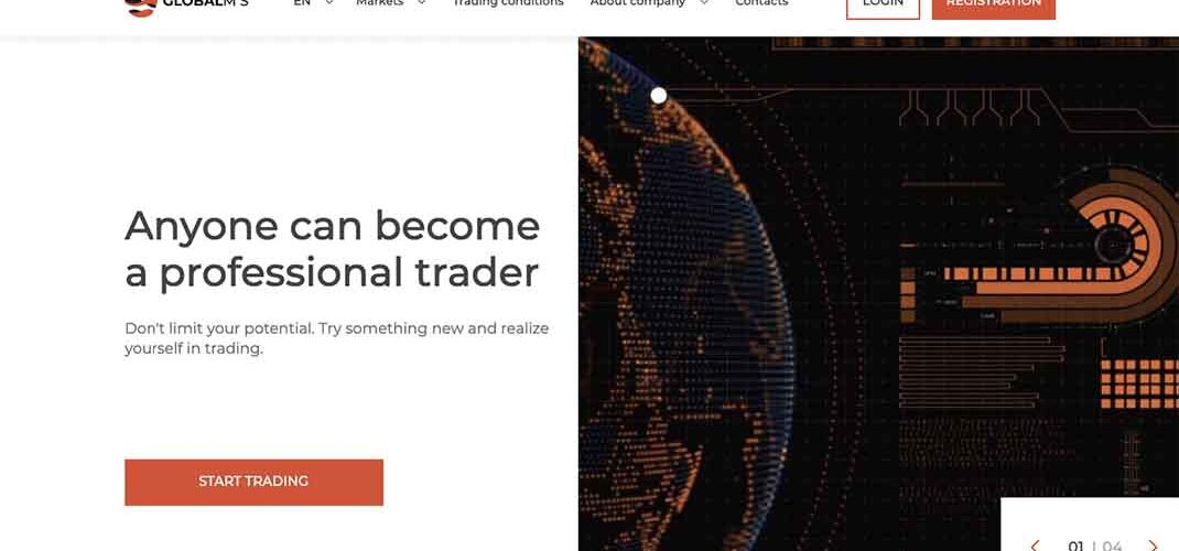 GlobalM-S: отзывы клиентов и краткая справка о брокере