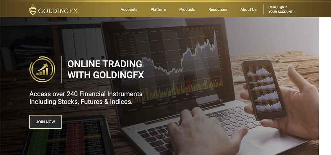 Отзывы о GoldingFX и обзор условий трейдинга
