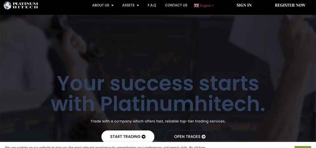 Брокер Platinumhitech: отзывы и условия трейдинга – Мошенник?